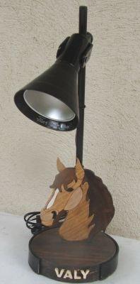 Lampe de bureau cheval Structure noire