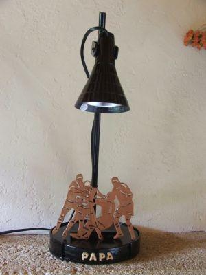 objet d co rugby lampe de bureau rugby. Black Bedroom Furniture Sets. Home Design Ideas