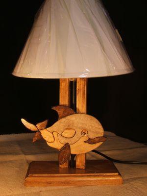 lampes de chevet lampe de chevet baleine pour chambre d 39 enfant. Black Bedroom Furniture Sets. Home Design Ideas
