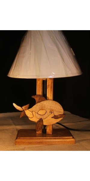 Lampe De Chevet Baleine Pour Chambre D Enfant