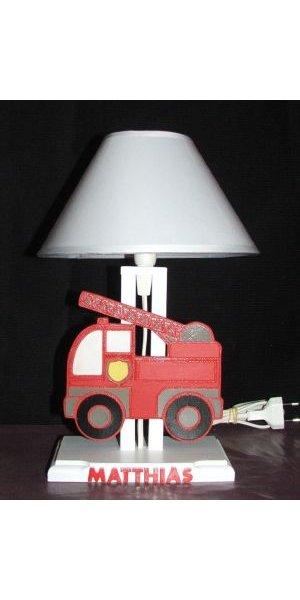 Lampe Chevet Camion De Xtqhsrdc Pompiers gf6vbY7y