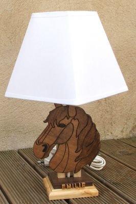 Lampe de chevet cheval pour enfant