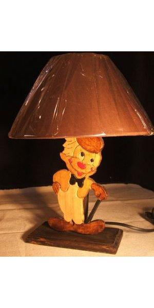 Lampe De Chevet Clown Pour Chambre D Enfant