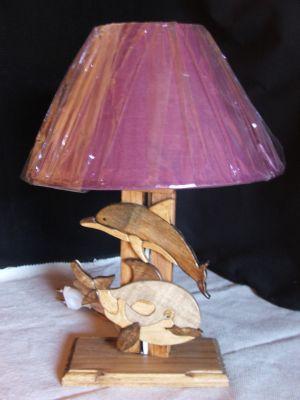 lampes de chevet lampe de chevet dauphin pour chambre d 39 enfant. Black Bedroom Furniture Sets. Home Design Ideas
