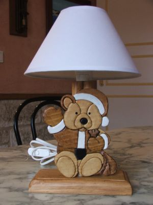lampes de chevet lampe de chevet nounours pour chambre d. Black Bedroom Furniture Sets. Home Design Ideas