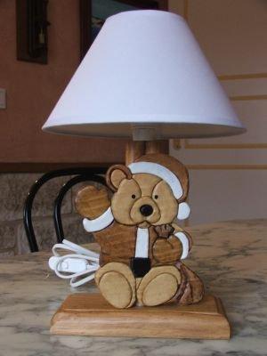 lampes de chevet lampe de chevet nounours pour chambre d. Black Bedroom Furniture Sets. Home Design Ideas