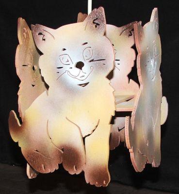 Lustre chat pour chambre d 39 enfant - Lustre pour chambre ...