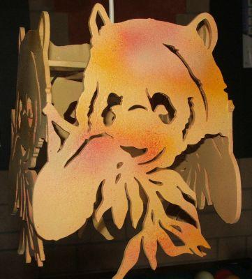 Lustre panda pour chambre d 39 enfants - Lustre pour chambre ...